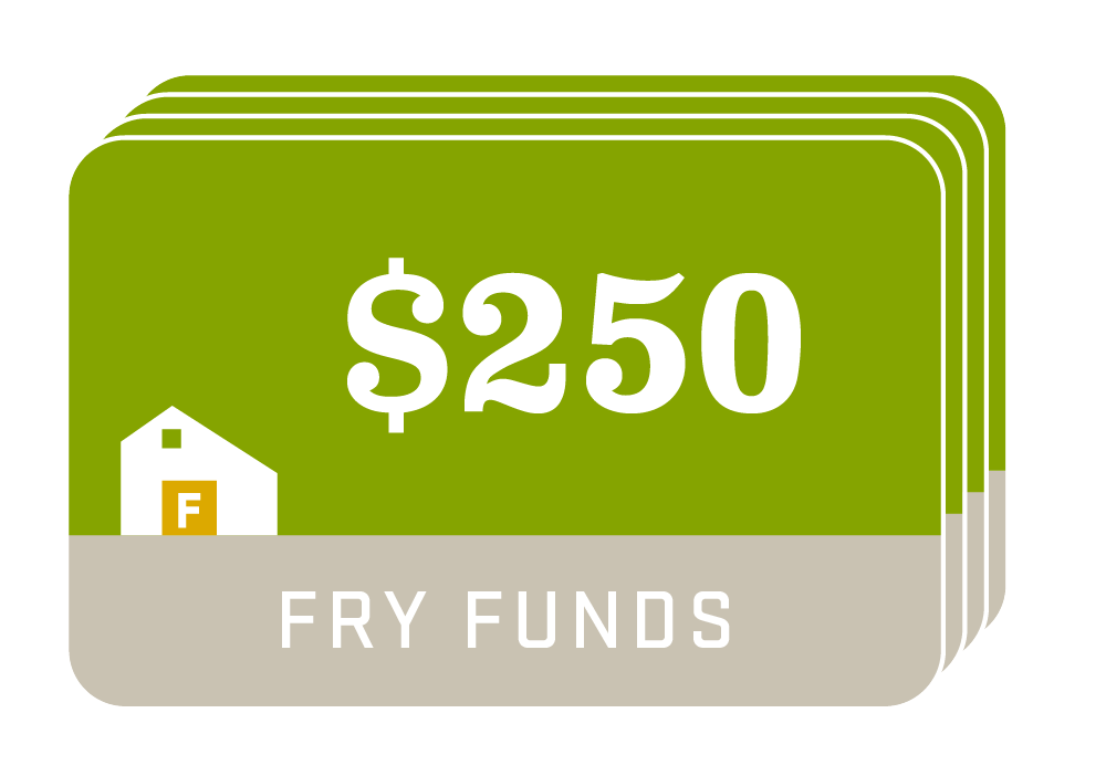 Fry Family Farm funds $250