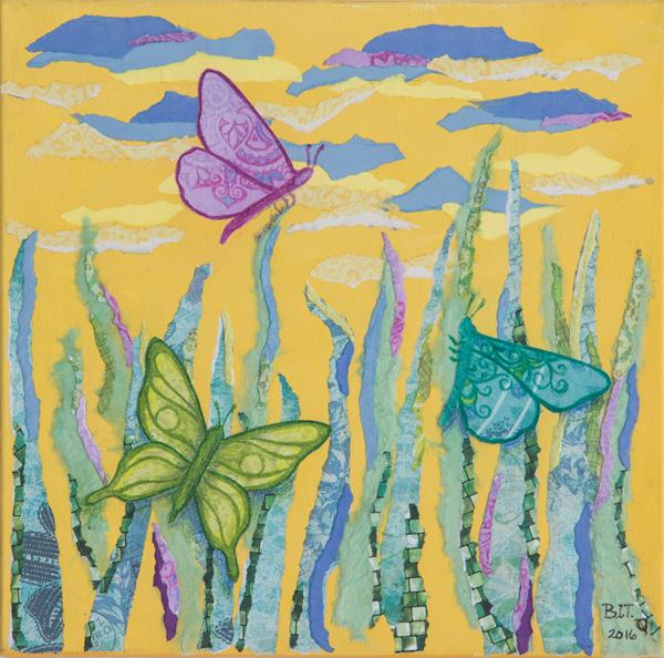 Morning Butterflies