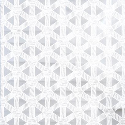 White on Silver