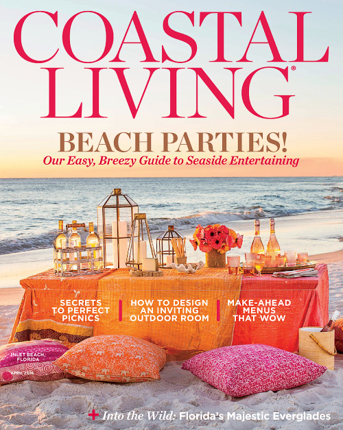 Coastal Living April 2016