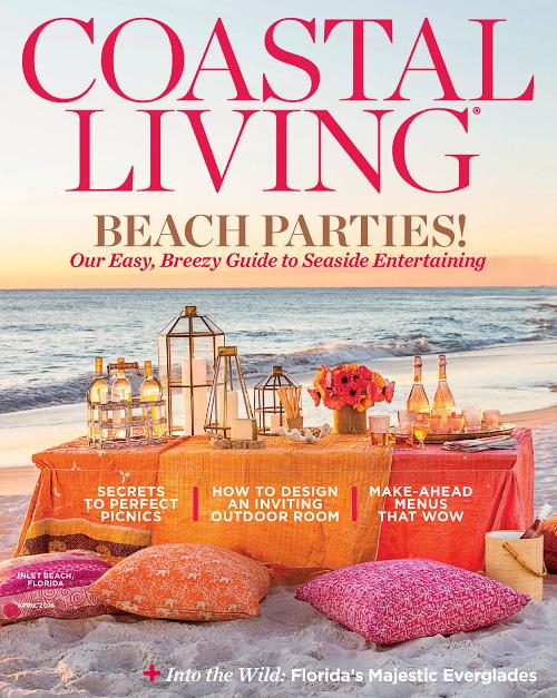 Coastal Living April 2016