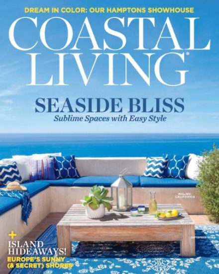 Coastal Living September 2016