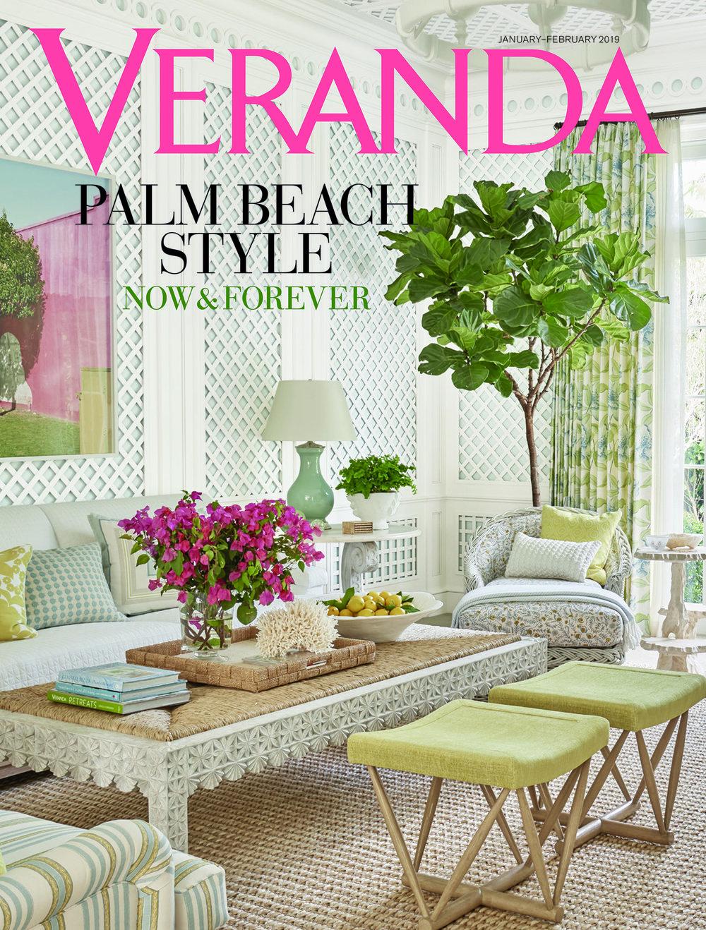 Veranda January/February 2019 Palm Beach Issue