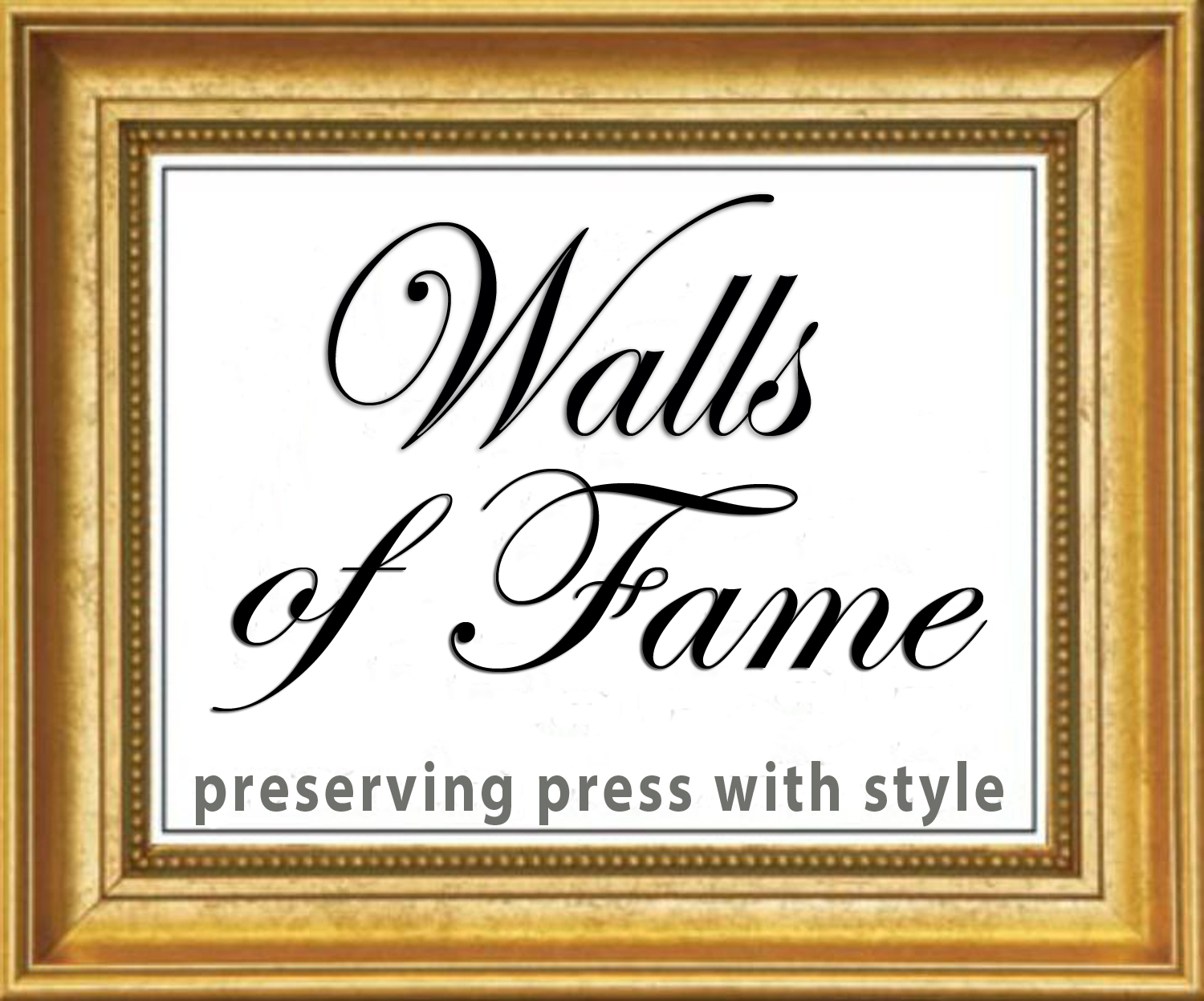 Walls of Fame: Custom Plaque Awards