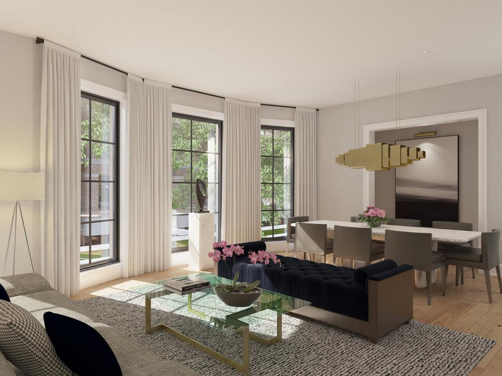 Living Room - Unit 1E - Arlington.jpg