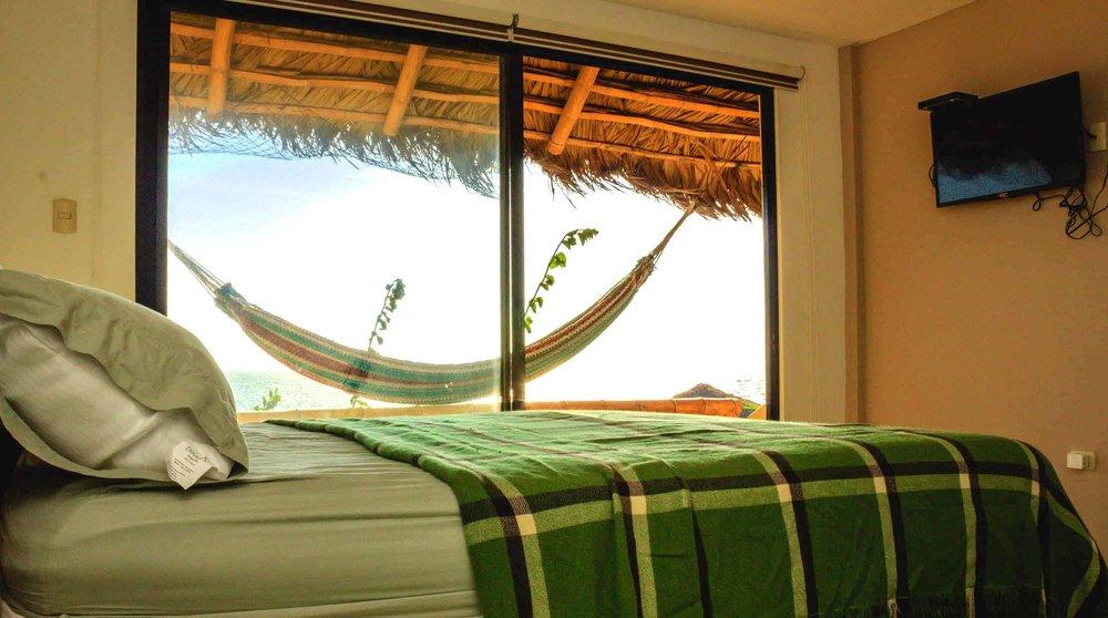 Humboldt Kites Hotel Room, Santa Marianita, Ecuador
