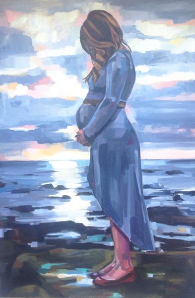 """""""Matty"""", oil on canvas"""
