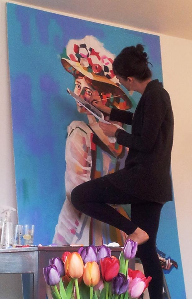 Klondike Kate mural