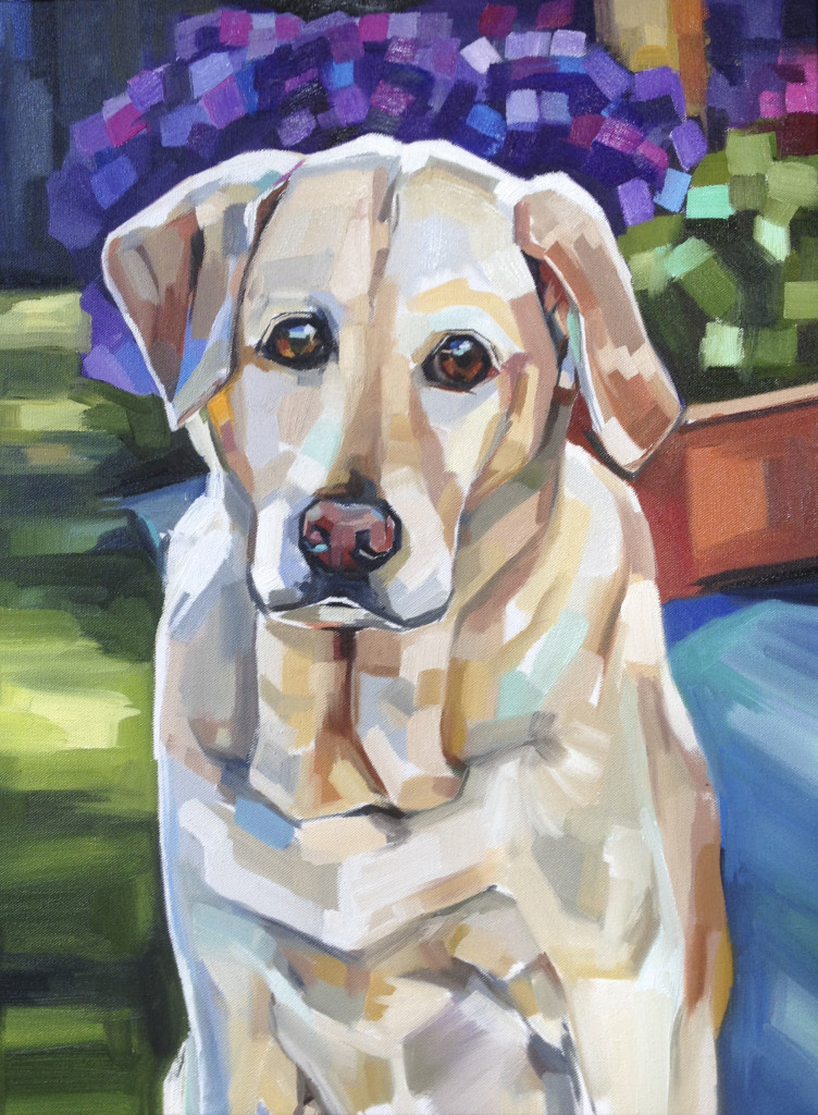 """Sadie Mae"", oil on canvas, 18""x24"""