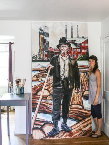 Millworker-&-painter-Sheila-Dunn