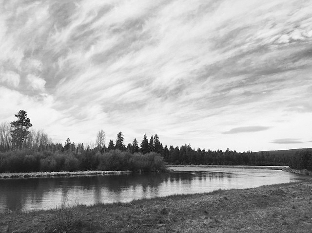 My favorite bend along the Deschutes River