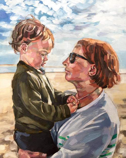 Declan & Grandma by Sheila Dunn