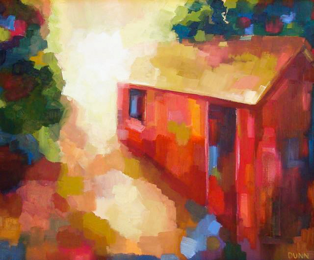 Red Barn by Sheila Dunn