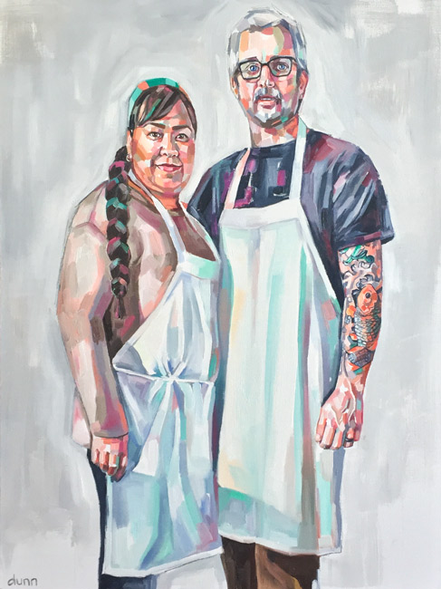 Chris & Yoly by Sheila Dunn_Sparrow Bakery
