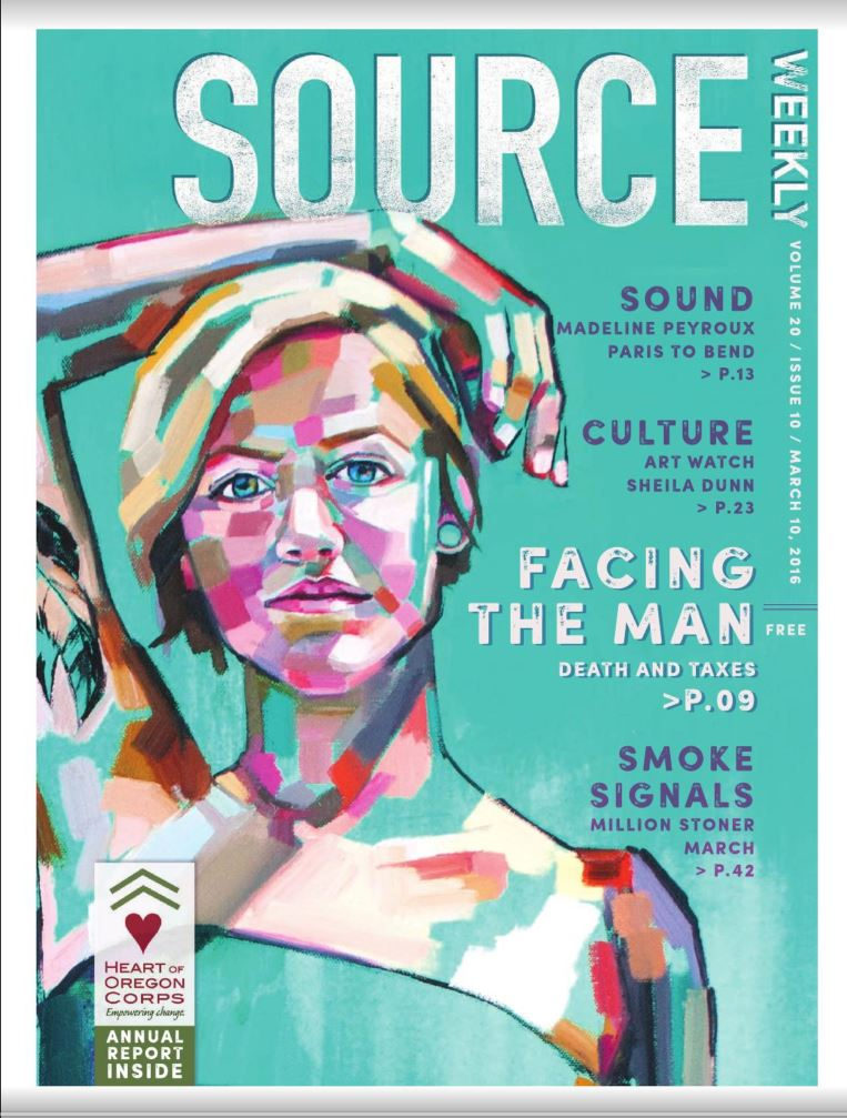 Source Weekly cover - Sheila Dunn - Bend Oregon.JPG