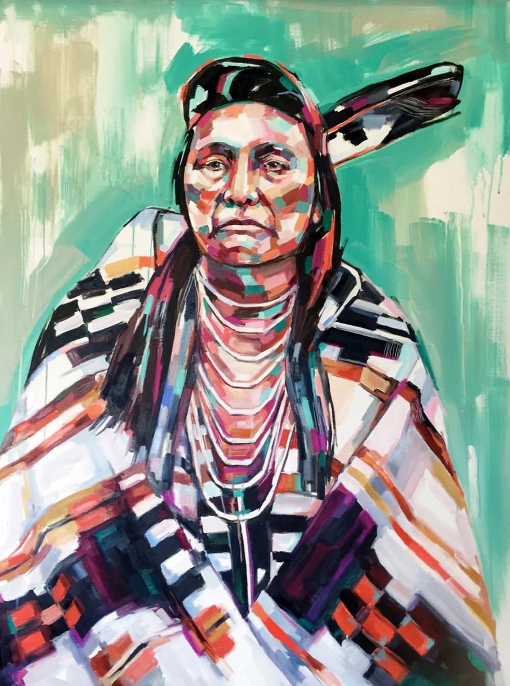 Chief Joseph Resistance Series Sheila Dunn