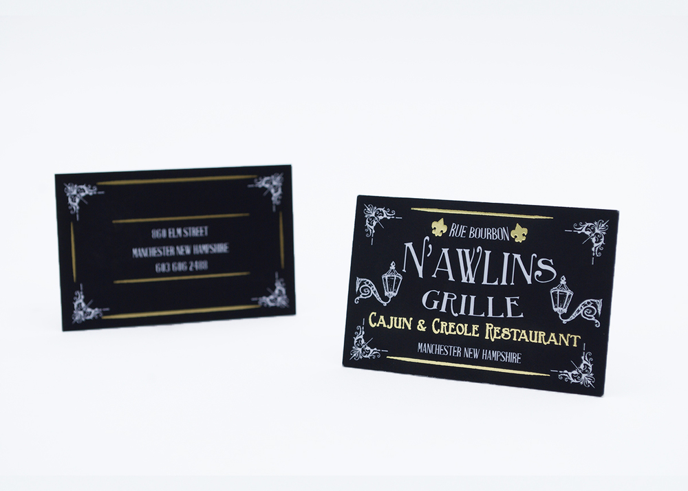 New orleans themed business cards matthew radwan design nawlinsdoublefrontinfocusweb1g reheart Gallery