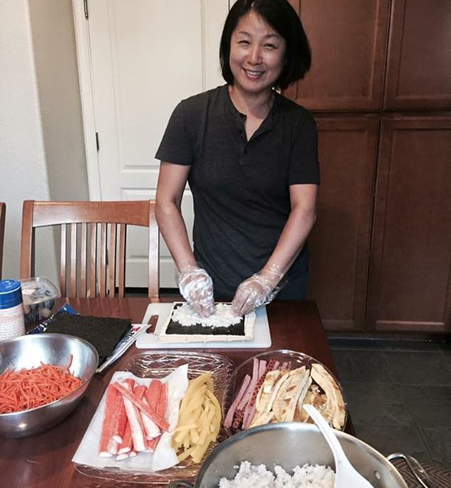"""Since I was young, my mother cooked wholeheartedly. ... My mom rarely hugged me or said ""I love you"" to me but I felt loved and protected by her through her cooking."" - Grace Park Join us this Saturday and hear more from this lovely and amazing woman! Hear about the Korean Community Kitchen she started in North York! 🙌🏽 #wct #woorimaum #koreanfood #healthfood #deliciousfood #healing #community #toronto #6ix #identity #migration #food #hungry #letstalk #letseat"