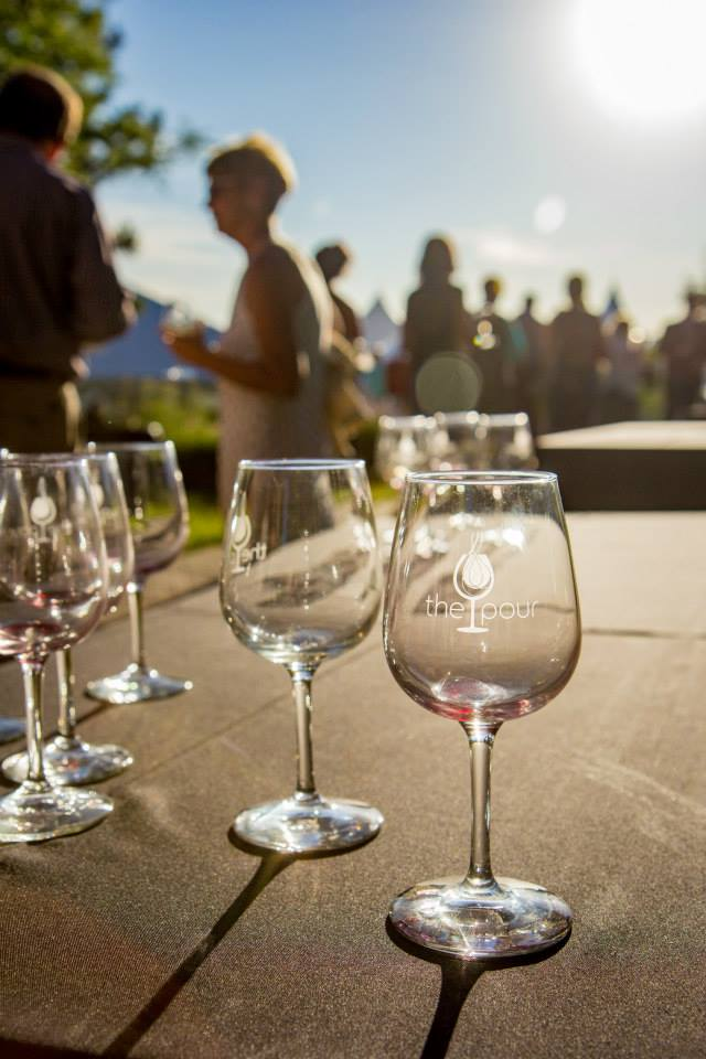 """The Pour"" — a fundraiser for Sacred Heart Medical Center and the Sacred Heart Children's Hospital — just one of many annual events held on our Cliff House Estate."