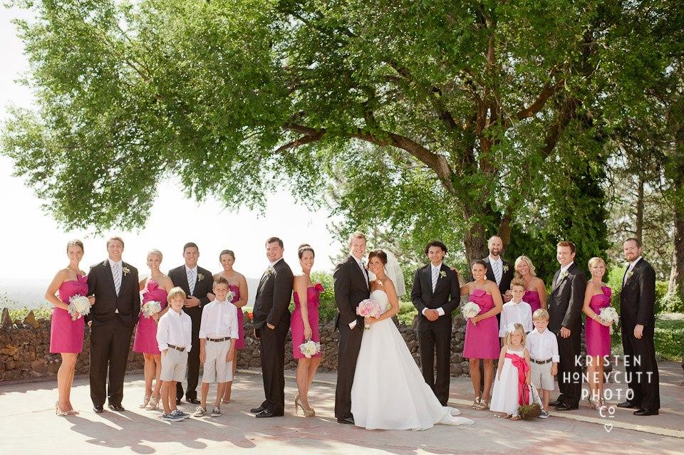 Bridal Party at the Croquet Court,©  Kristen Honeycutt