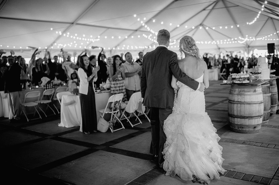 Grand Entrance under the Tent, ©  Matt Shumate  Photography