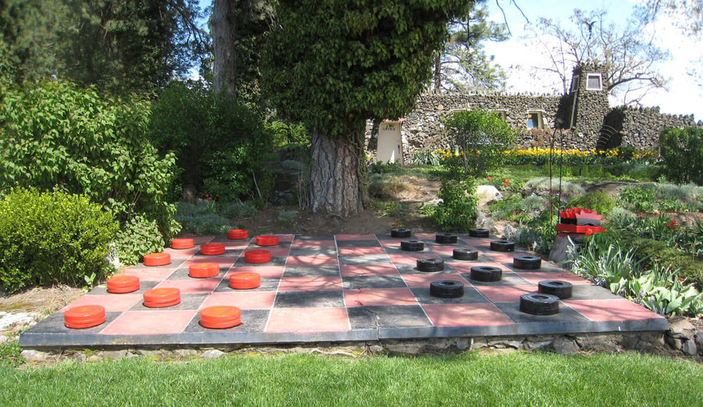 The Checkerboard — still charming!