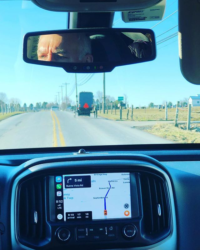 "On the road again with my SVM ""bus driver"" 🎵🚎,Jay Cogley,  heading To Limeville Methodist Church for an #ffr #svm presentation:) #amish #inspire #worship #imalive"