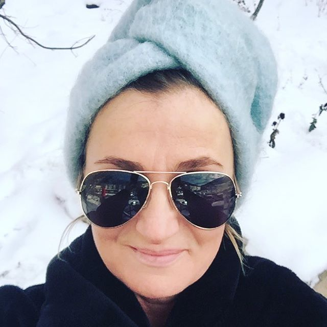 #turbanchic#turban#playinginthesnow