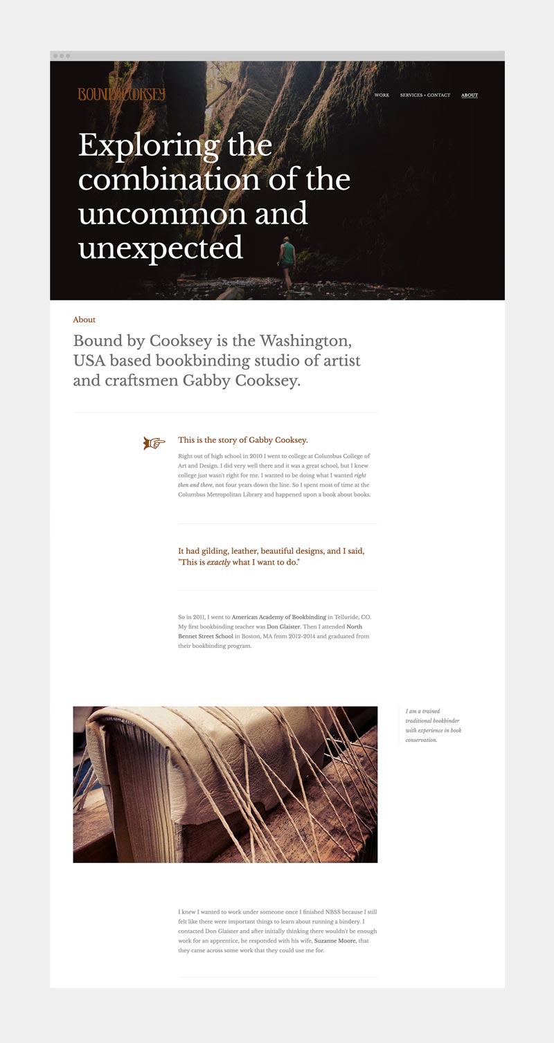 bound-by-cooksey-bookbinding-about-studio-website-design