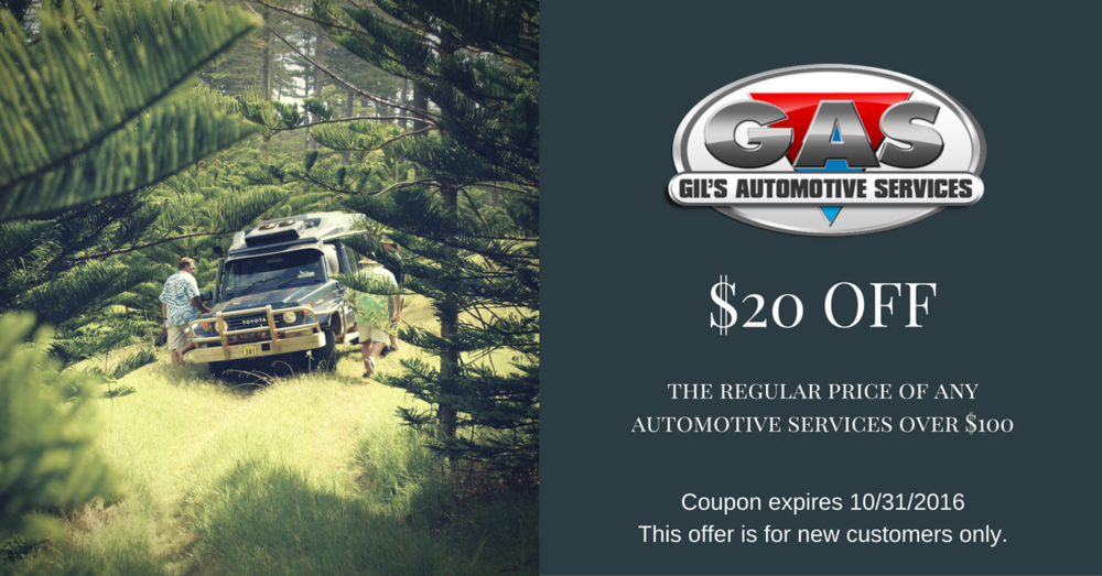 Welcome to gil's automotive facebook page