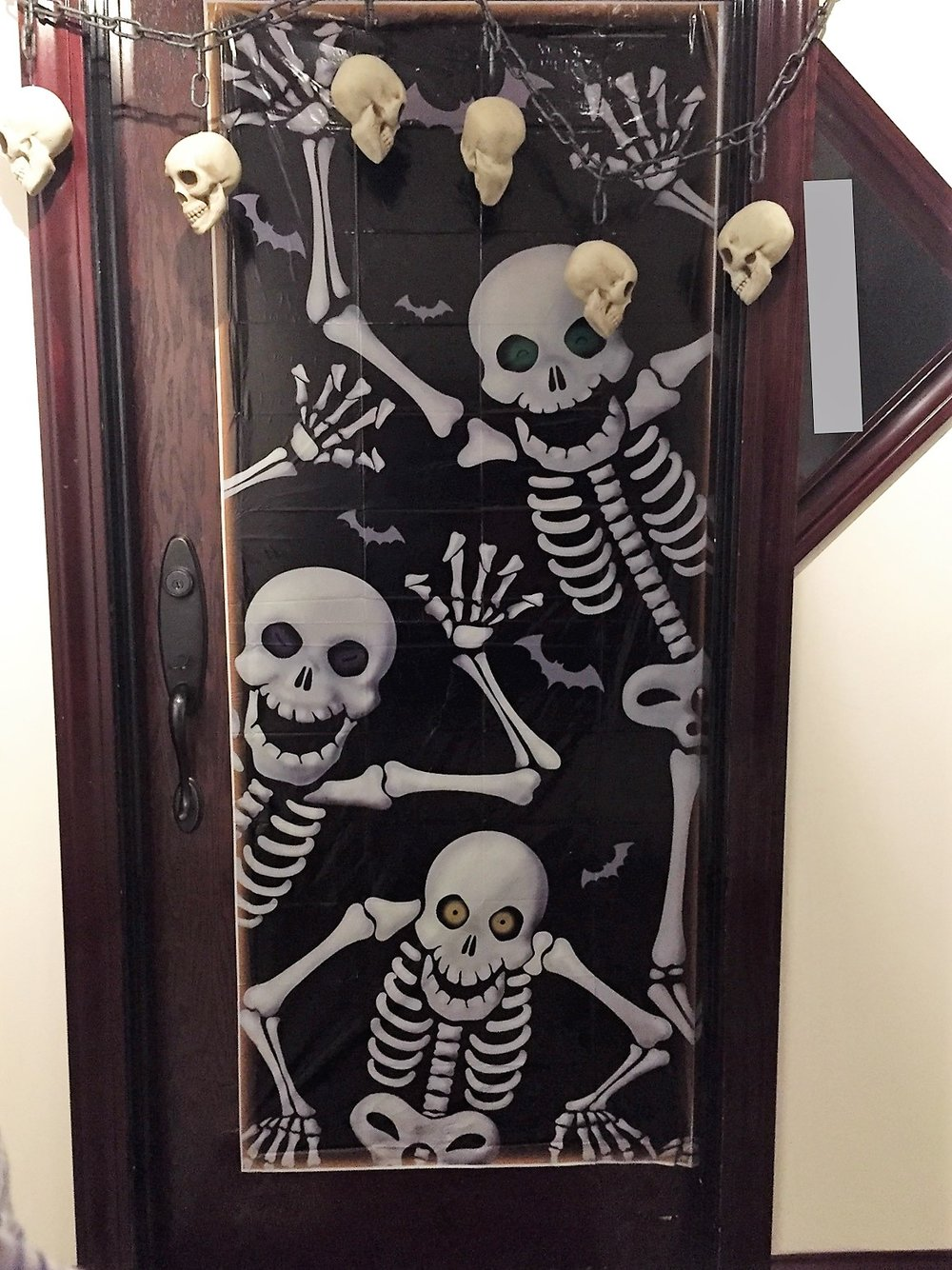 Entry 3 - Robia and Shawnleigh - Dancing Skeletons and Chained Skulls