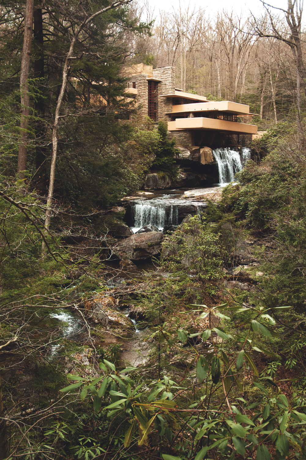 Falling Water House by Frank Lloyd Wright, PA