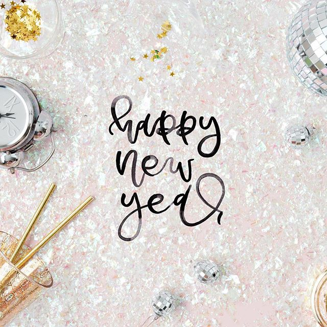 Sweet and simple, Happy New Year 🍾