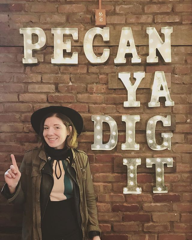 Yes we peCAN! Fun times at our @americanpecan Not Pie Shop #notjustpie #client