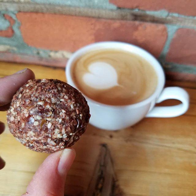 Chocolate + coffee = 😍