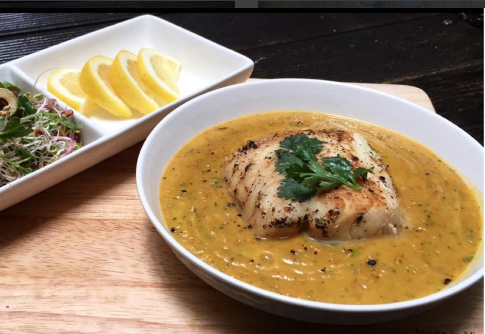 Cilantro Pumpkin Soup