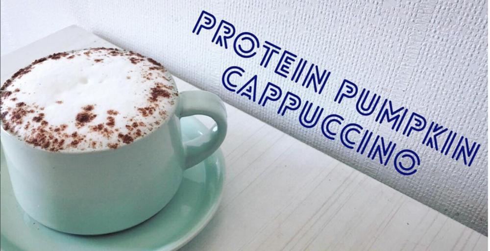 Pumpkin Spice Protein Cappuccino