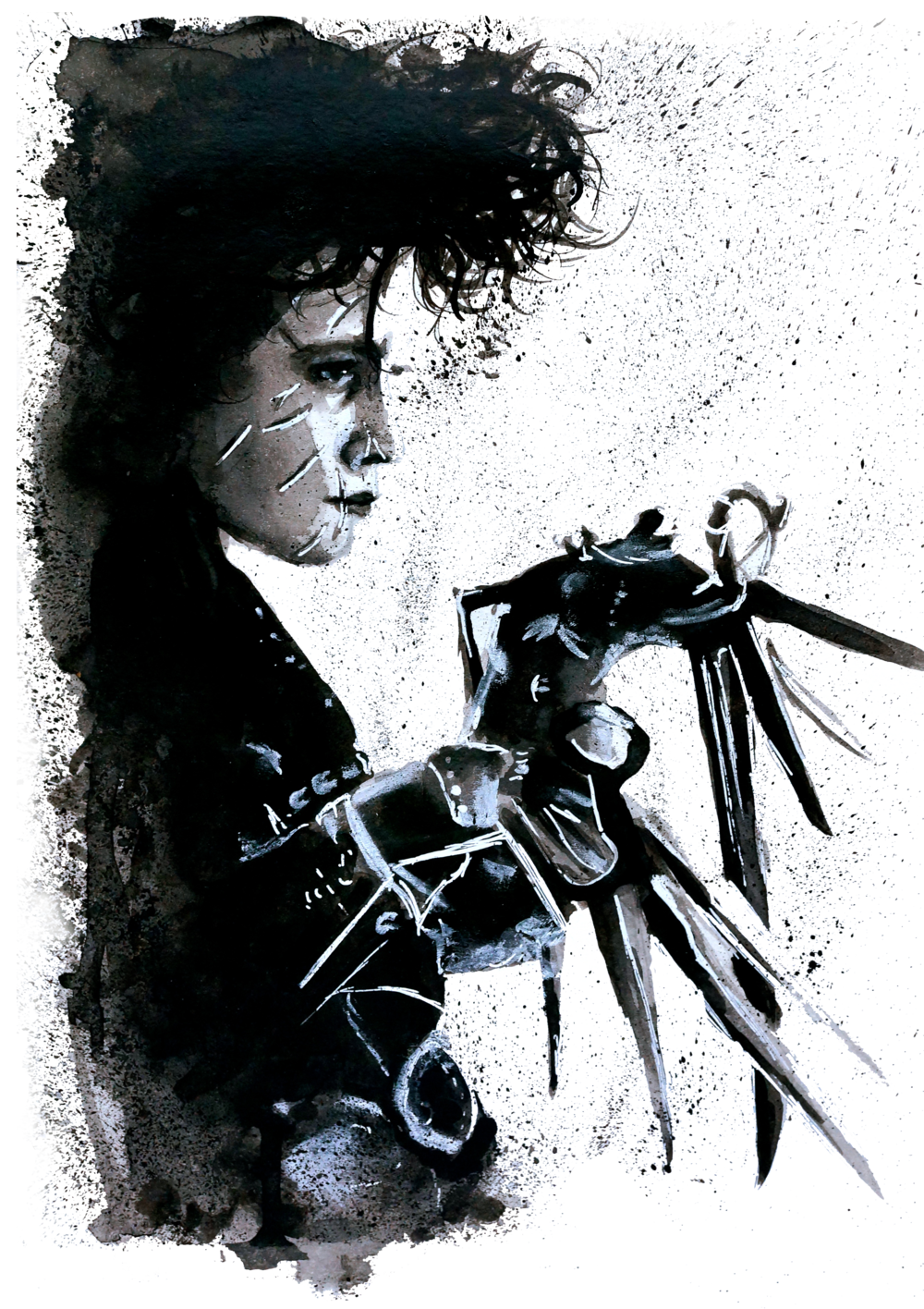 Scissorhands Splatter