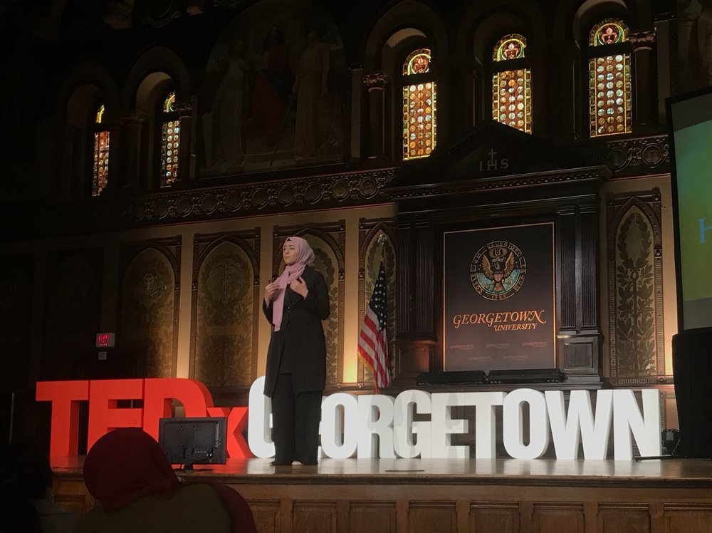 Thana Hassan at TEDxGeorgetown