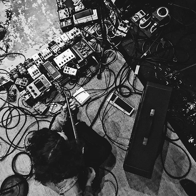 Making a record is messy . . . .  #instagood #instadaily #vsco #vscocam #blackandwhite #blackandwhiteisworththefight #igers #clean #marshall #ludwig #lespaul #gibson #music #playlist #nashville #nashvillemusic #artist #band #creative #studio