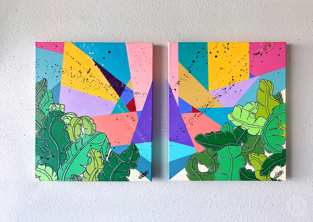 """RELAXXATION PT. I & II"" (DIPTYCH)"
