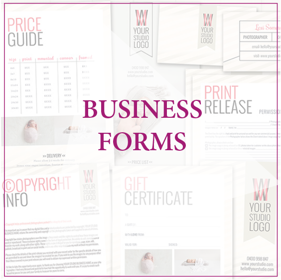 View All  Business Forms  Photoshop Designs