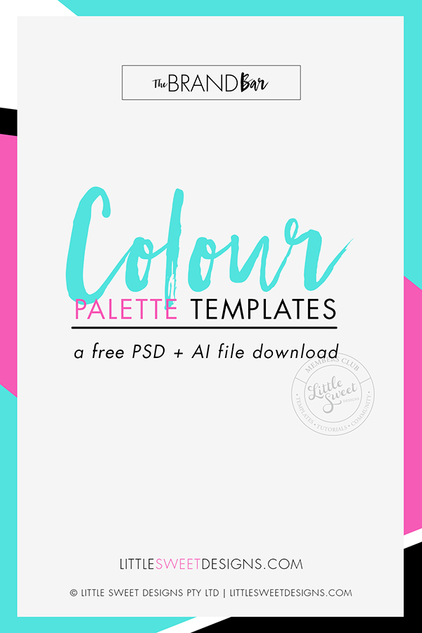 COLOR PALETTE TEMPLATE .PSD + .AI (PHOTOSHOP + ILLUSTRATOR FILES) Choosing the right color scheme is essential to your brand and website's success. Your layout and other design choices, including font's, should be developed in conjunction with your color scheme, which can ensure readability, cohesiveness, and beauty in the final product. Download & Explore Your Brand Colours Today!