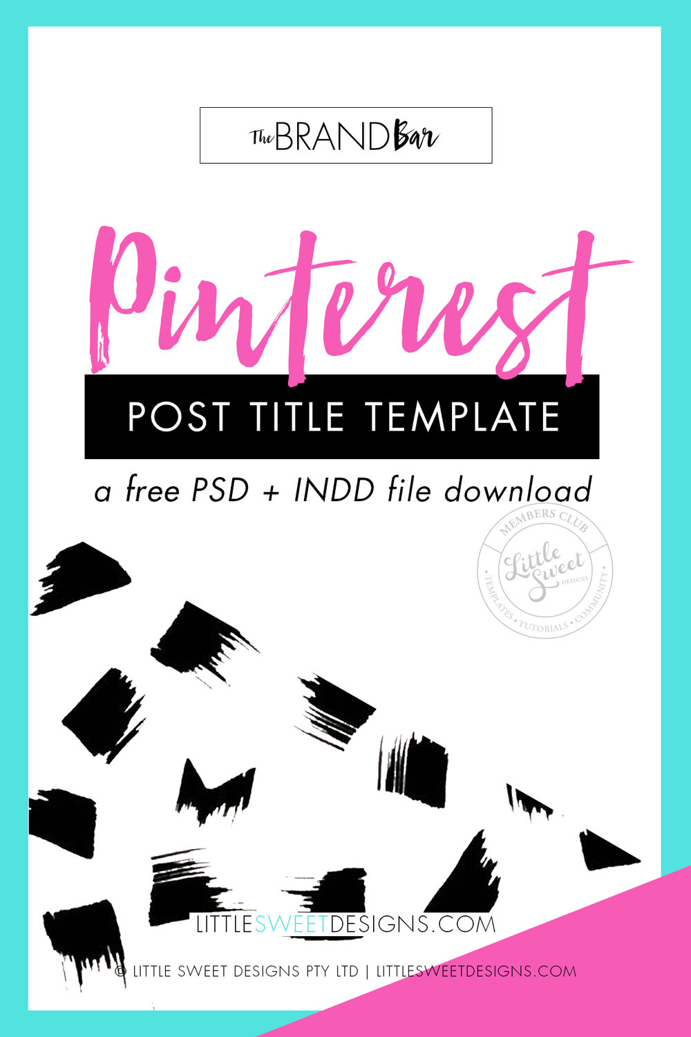 PINTEREST POST TITLE TEMPLATES .PSD + .INDD (PHOTOSHOP + INDESIGN FILES)    Download my 'done-for-you' Pinterest graphic templates that you can use to promote your products & work on Pinterest.   Create eye-catching and on-brand visuals to help drive traffic back to your blog posts (from Pinterest) to highly increase your rate of being repinned and shared.   Download & Get Pinning Today!