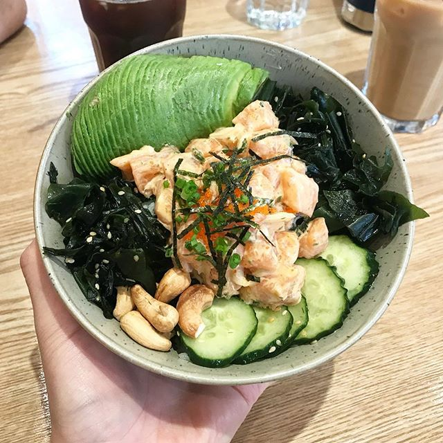 Iced coffees and poke bowls to make it through the muggy shanghai summer.