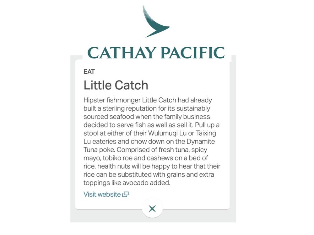 Copy of Cathay Pacific