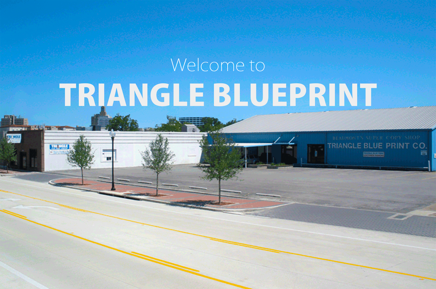 Triangle blueprint home triangle blueprint is the source for all your reprographic and sign needs malvernweather Images