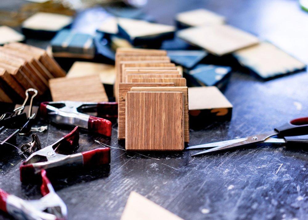 shibori blocks