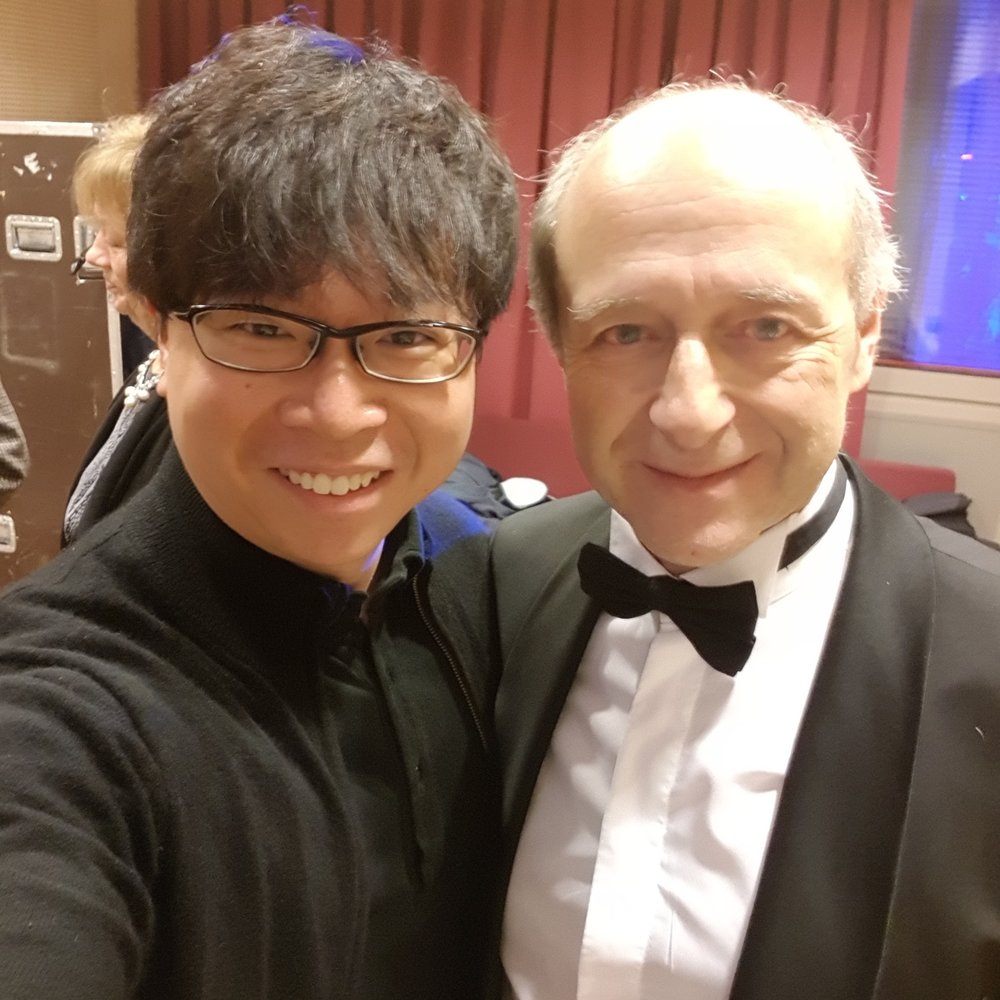 With one of my favourite conductors and a trusted mentor, Ivan Fischer, with whom I have learnt not only about music but also creative and innovative artistic leadership in the 21st century