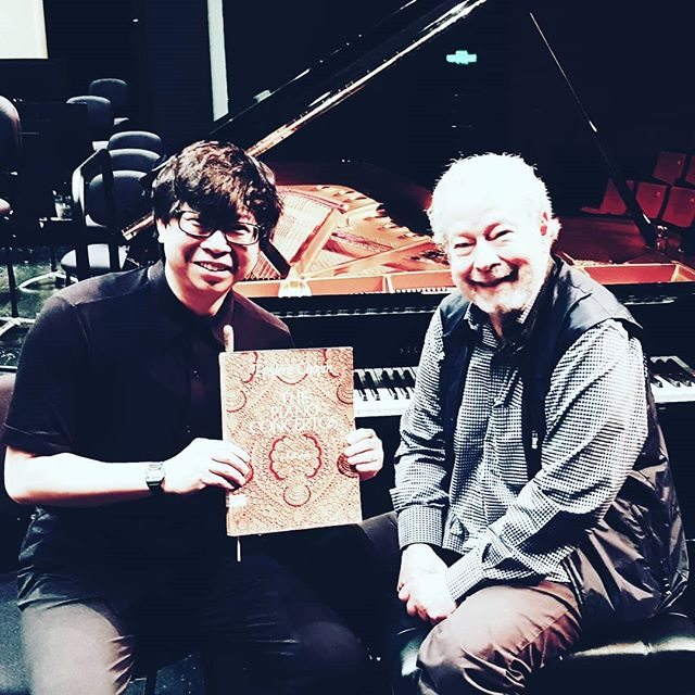 Thrilled to be working with one of my musical heroes, Nelson Freire, with the Hangzhou Philharmonic. Apart from his phenomenal Chopin, we will also play Franck's Symphony in D Minor, a work that has become very close to my heart.